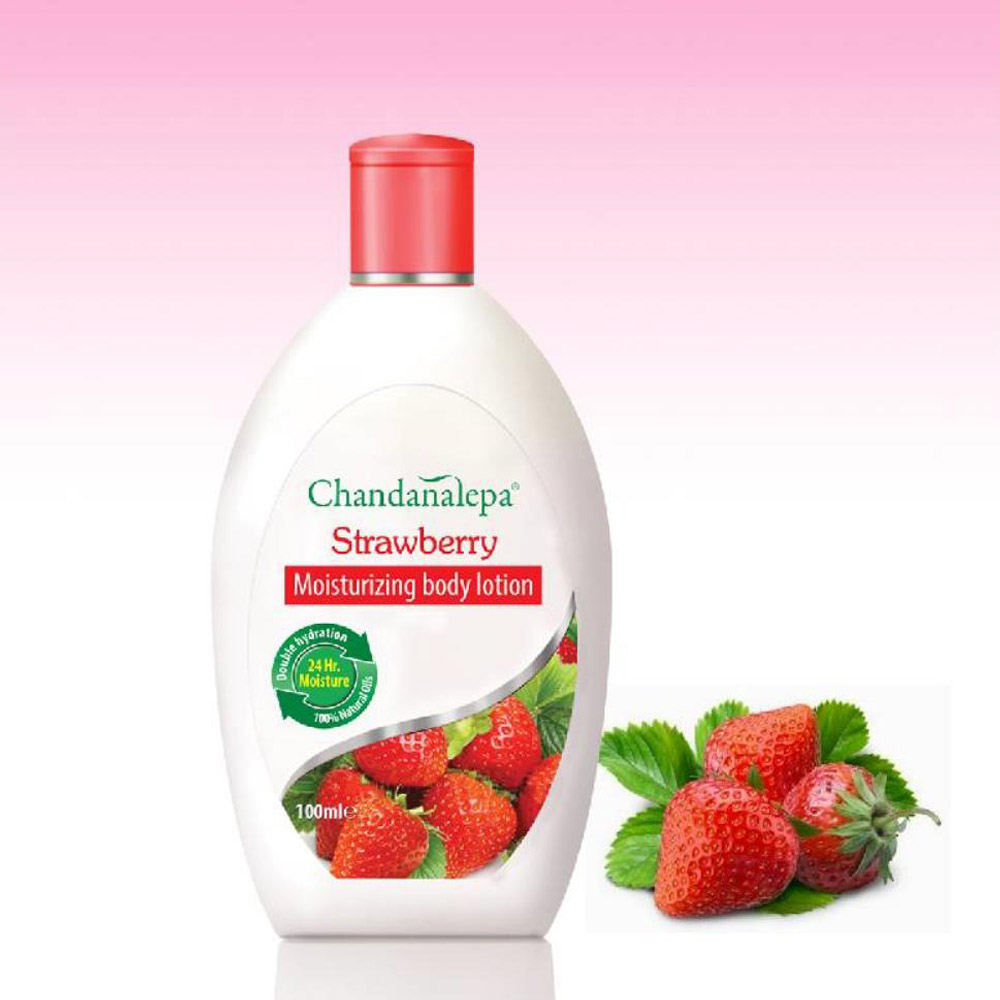 Strawberry Moisturizing body lotion
