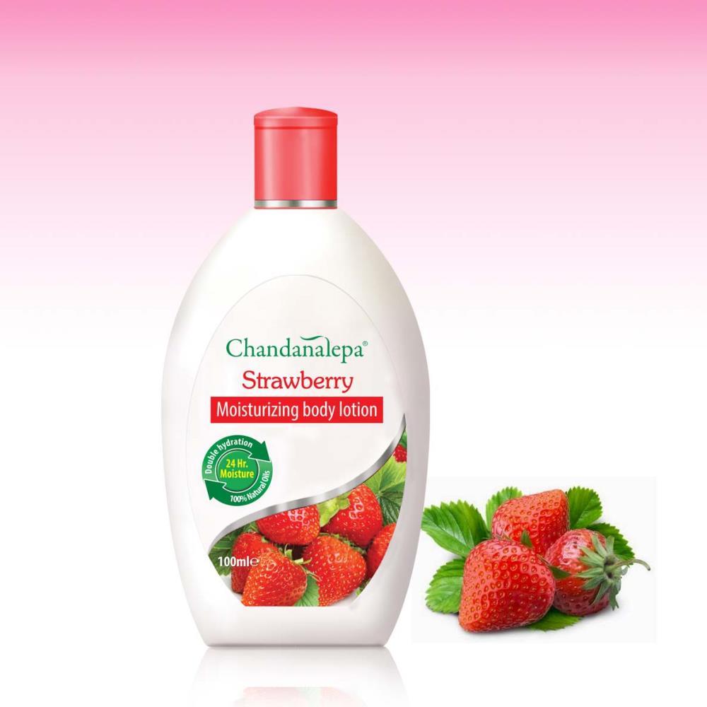 Strawberry Moisturizing body lotion