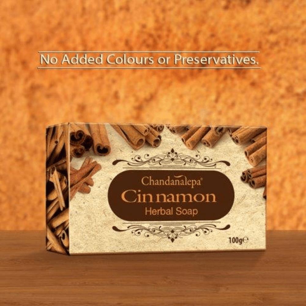 Cinnamon Herbal Soap