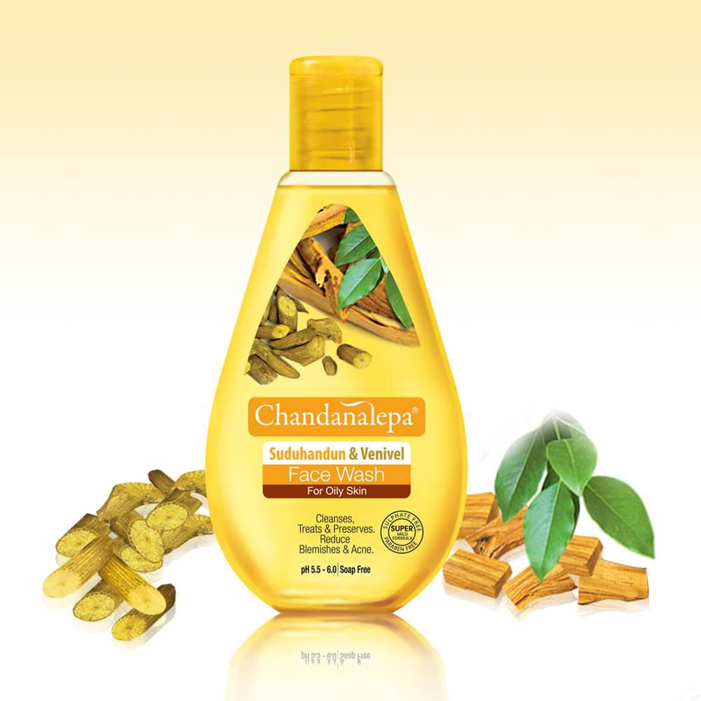 Sandalwood & Venivel Face Wash