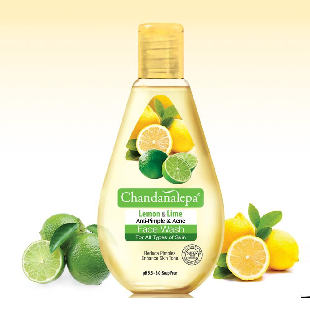 Lemon And Lime Anti Acne & Pimple Face Wash