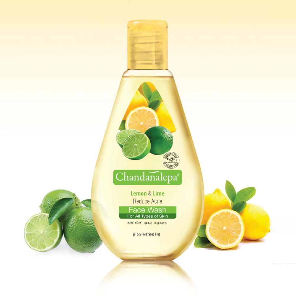 Lemon And Lime Anti Acne & Pimple Face Wash