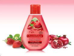 Strawberry & Pomegranate Whitening Face Wash