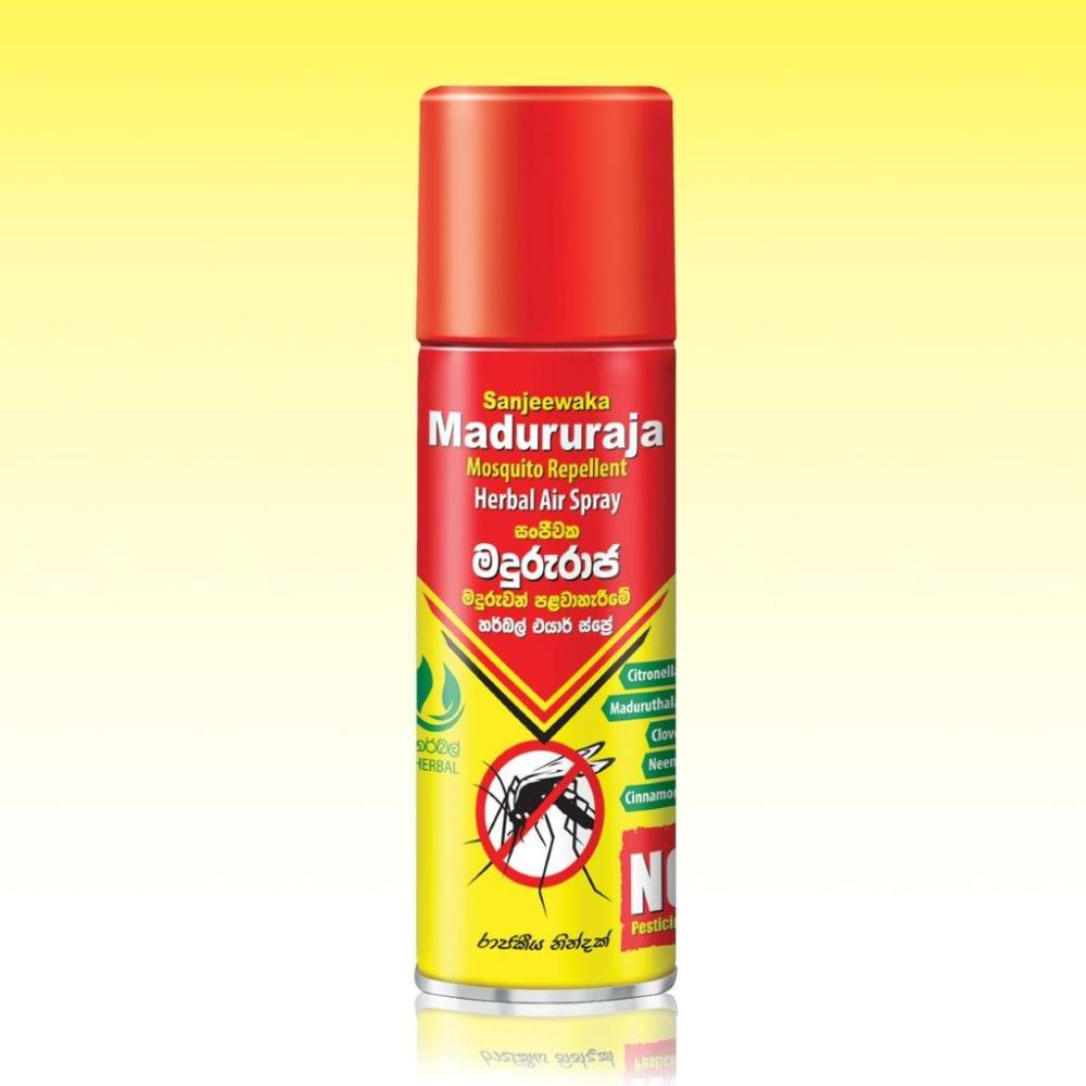 Maduraja Mosquito Repellent Herbal Air Spray